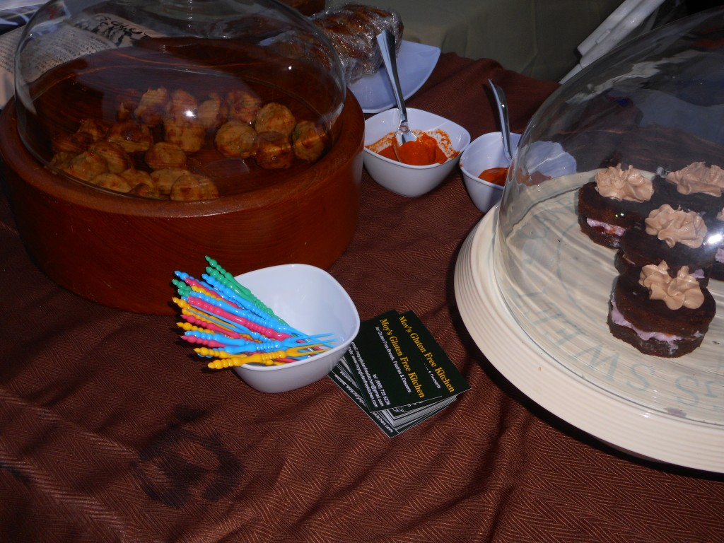 Delicious goodies from Moy's Gluten Free Kitchen. Photograph by Shelly-Ann Inniss