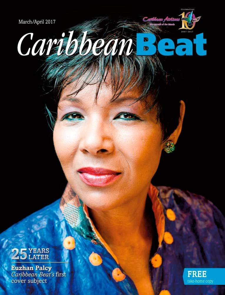 Martiniquan filmmaker Euzhan Palcy, 25 years after she appeared on the cover of the first Caribbean Beat. Photo © Yannick Coupannec/Leemage
