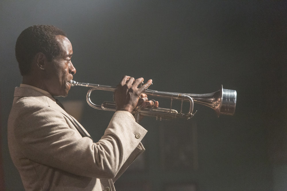 Don Cheadle as Miles Davis in the film Miles Ahead. Courtesy the ttff