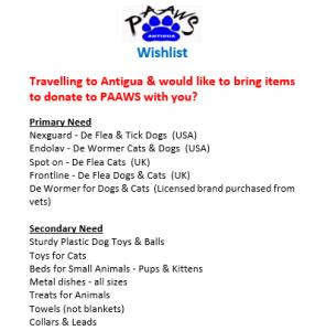 PAWS Antigua