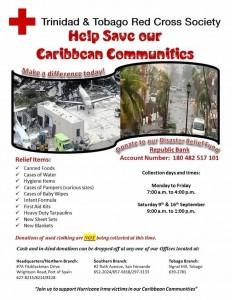 T&T Red Cross Irma Response