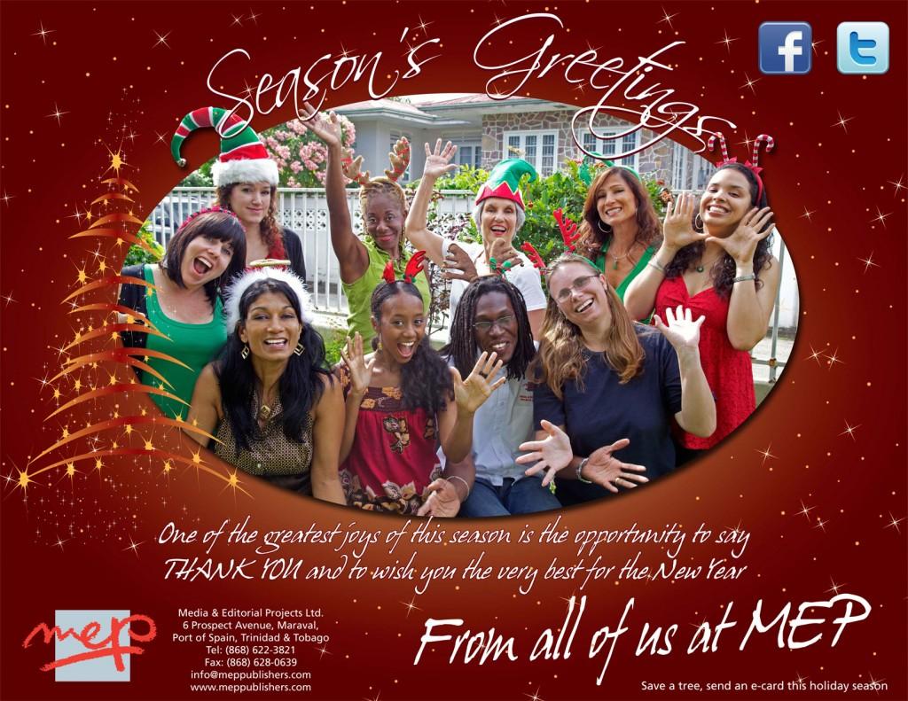 MEP Christmas card 2010