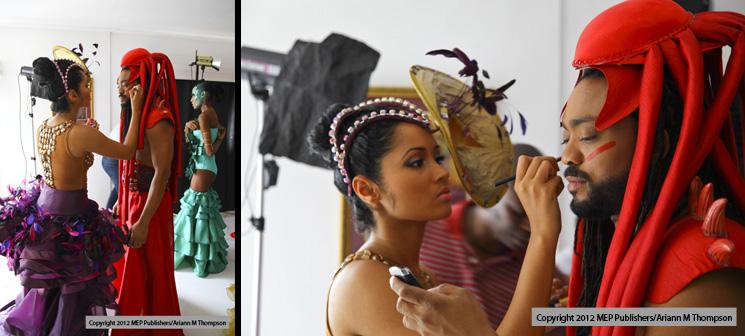 Machel Montano, K2K & Carnival Caribbean Beat cover photo shoot