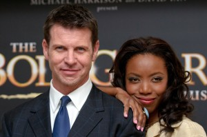 Heather Headley and Lloyd Owen at the launch of The Bodyguard Musical in London
