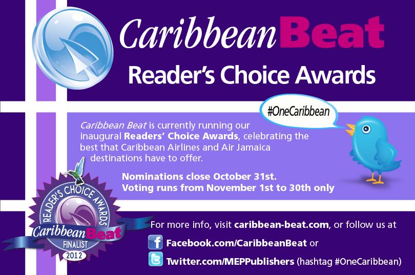 Caribbean Beat Reader's Choice Awards graphic