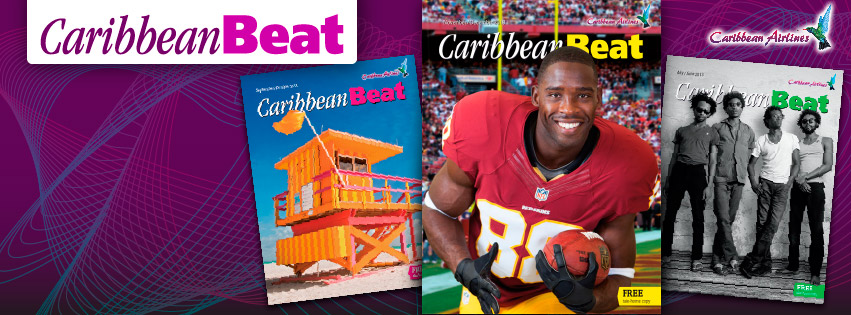 Caribbean Beat cover spread Nov/Dec 2013