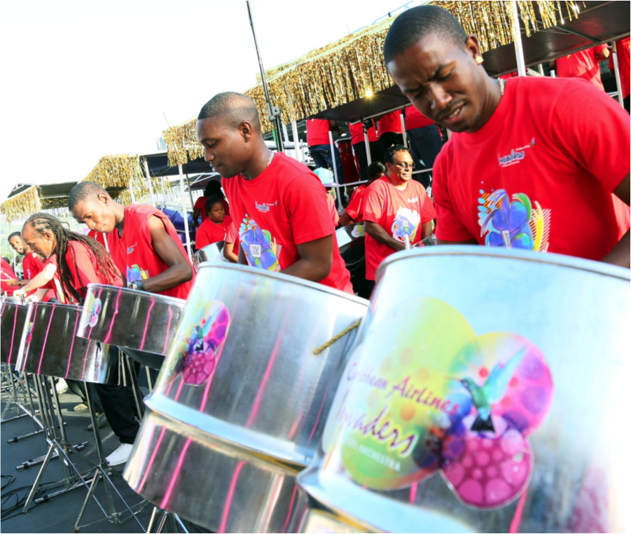 Caribbean Airlines Invaders Steel Orchestra
