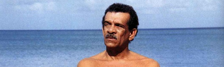Derek Walcott. Photo: Bruce Paddington, via Caribbean Beat magazine
